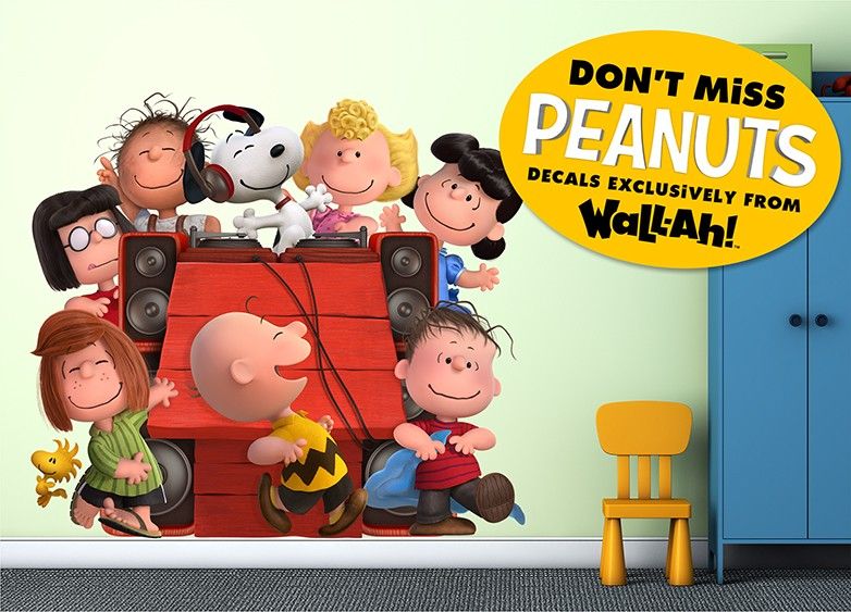 The Peanuts Wall Decals