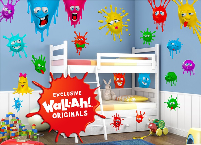 Exclusive Wall-Ah! Originals Wall Decals