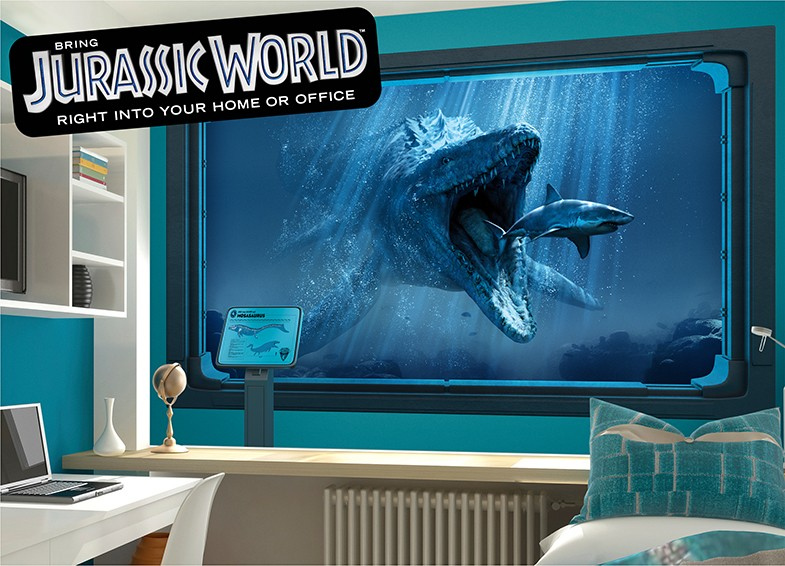 Jurassic World Wall Decals